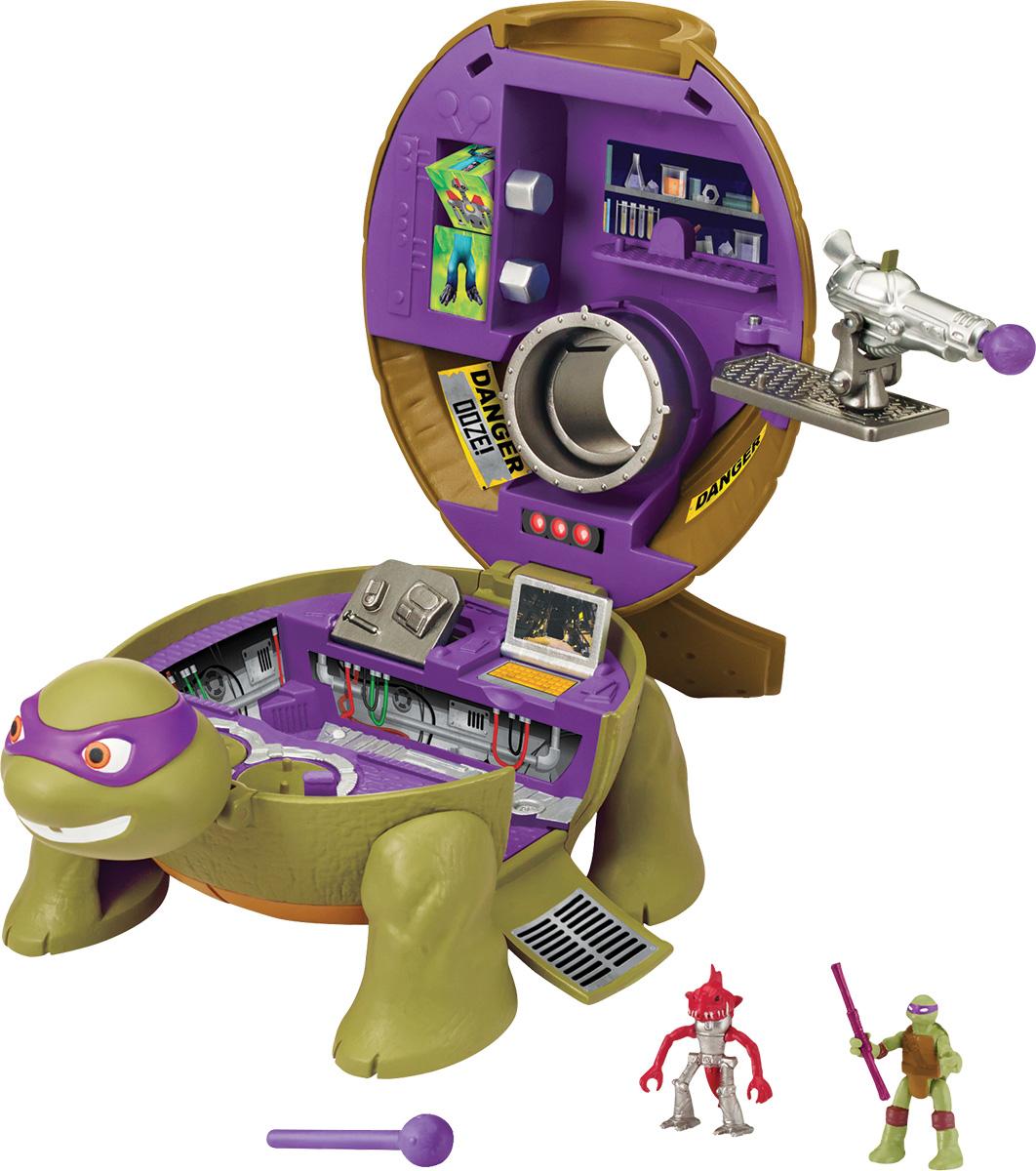 Черепашки Ниндзя Игровой набор Лаборатория Донни черепашки ниндзя фигурка волшебник донни