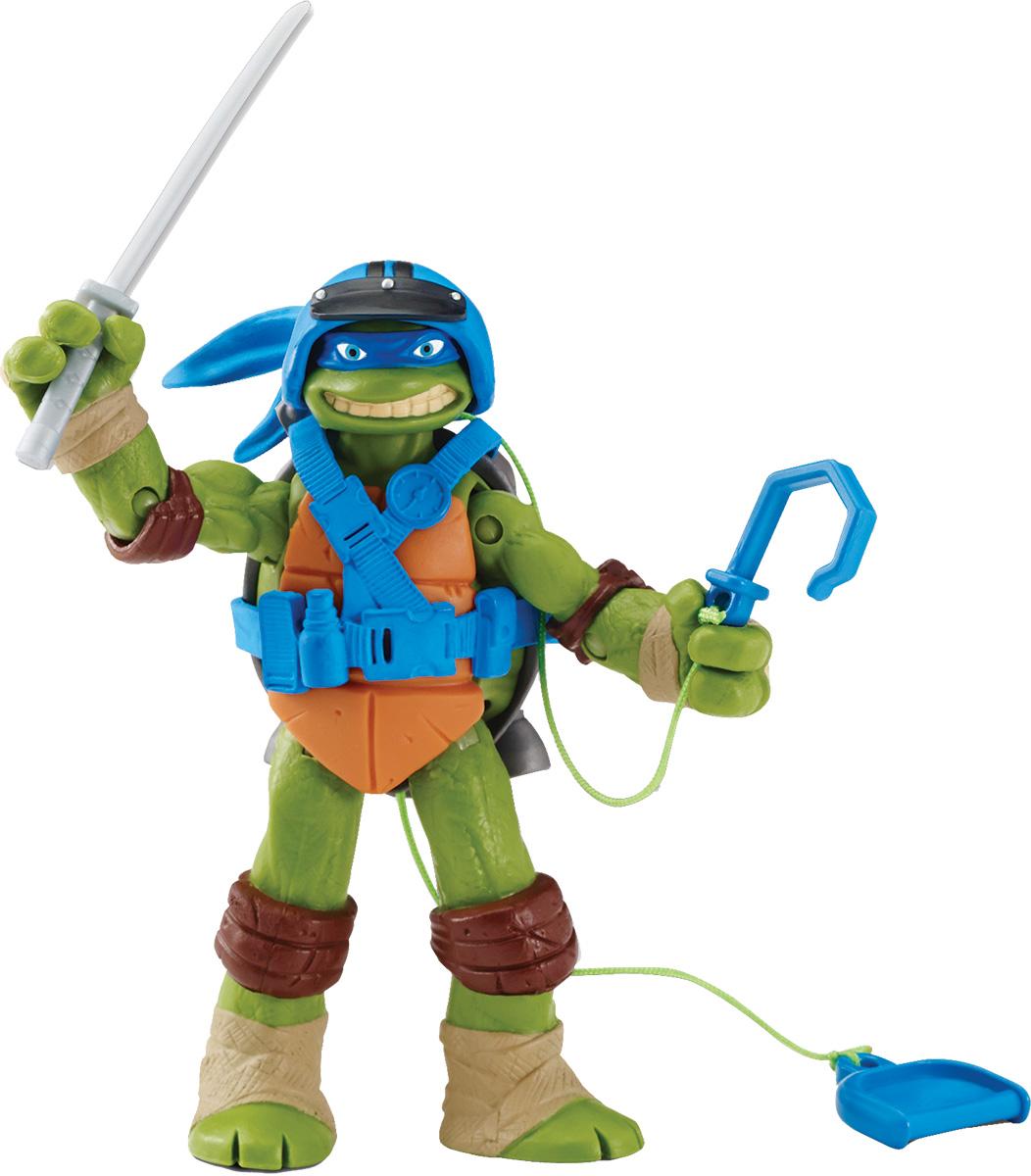 Черепашки Ниндзя Фигурка Леонардо-шпион игровые фигурки turtles машинка черепашки ниндзя 7 см сплинтер на атаке сенсея