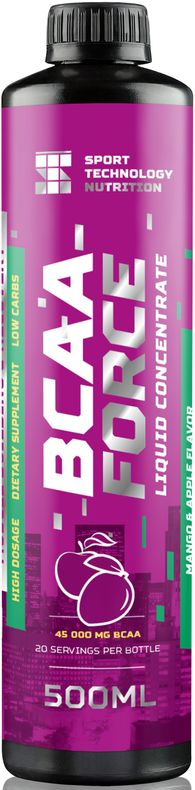 "BCAA Sport Technology Nutrition ""Force"", манго, яблоко, 500 мл"