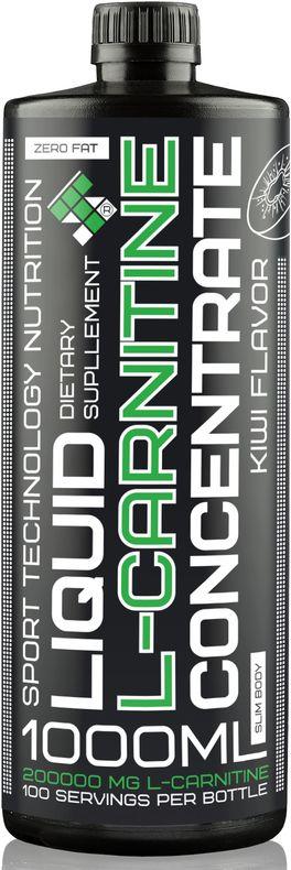 L-карнитин Sport Technology Nutrition, концентрированный, киви, 1 л46070871221626L-карнитин Sport Technology Nutrition - концентрированный безалкогольный напиток со вкусом киви и с высоким содержанием L-карнитина. Обладает высокой биологической активностью, эффективен в качестве жиросжигателя. Повышает энергообеспечение организма за счет участия в процессе расщепления жирных кислот. Незаменим при занятиях спортом, обеспечивая достижение максимального результата. Продукт особенно эффективен в сочетании со спортивными тренировками, занятиями аэробикой и фитнесом. Высокое содержание L-карнитина обеспечивает длительную работоспособность, улучшает обмен веществ, снижает уровень холестерина в крови, нормализует сердечную деятельность. Не токсичен, не вызывает побочных эффектов.Преимущества:- высокое содержание L-карнитина в малом объеме,- отсутствие углеводов,- специально подготовленная питьевая вода,- обеспечивает быстрое восстановление и длительную работоспособность,- максимально снижен уровень консервантов, - усиливает адаптационные способности организма.Рекомендован:- для эффективного сброса лишнего веса,- для любых видов спорта,- лицам, ведущим активный образ жизни.Рекомендации по применению: перед каждым употреблением взбалтывать. 10 мл (2 чайные ложки) сиропа растворить в 50-100 мл воды по вкусу. Принимать 1-4 порции в день, в зависимости от интенсивности физических нагрузок.Состав: L- карнитин, ароматическая основа, подсластители.Товар сертифицирован.Как повысить эффективность тренировок с помощью спортивного питания? Статья OZON Гид