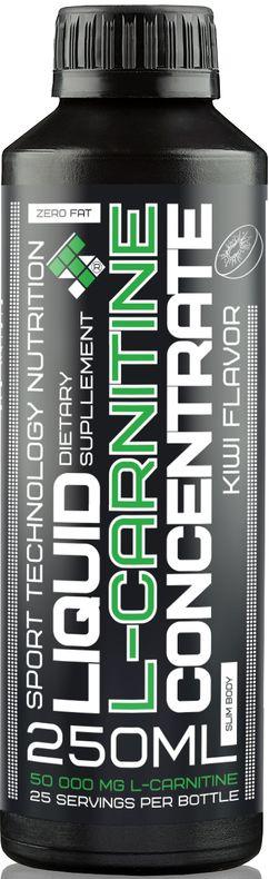 L-карнитин Sport Technology Nutrition, концентрированный, киви, 250 мл l карнитин athletic nutrition 10 шт х 25 мл