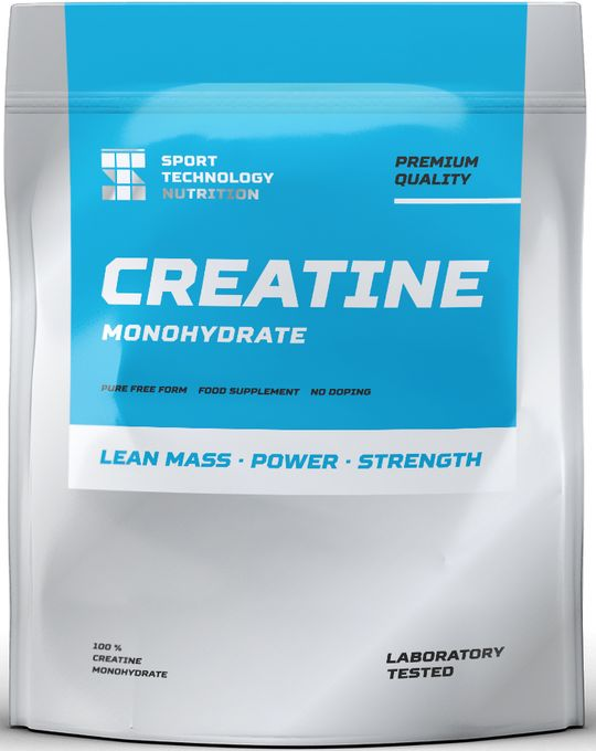 Креатин моногидрат Sport Technology Nutrition Creatine, 500 г креатин atech nutrition creatine monohydrate 100% 300 г