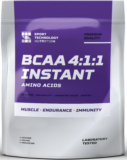 BCAA Sport Technology Nutrition 4:1:1, вишня, 300 г46070871223309BCAA Sport Technology Nutrition 4:1:1 - комплекс из трех аминокислот (лейцин, изолейцин, валин) в быстрорастворимой форме и с отличным вкусом. BCAA обеспечивают мышцы необходимым питательными веществами, помогают восстанавливаться, замедляют процессы катаболизма и устраняют ощущение перетренированности.Идеально подходит для защиты мышц от разрушения во врем жиросжигающего тренинга.Преимущества:- увеличивают синтез белка,- обладают мощным антикатаболическим эффектом,- снижают процент жира в организме,- полностью растворяются.Как повысить эффективность тренировок с помощью спортивного питания? Статья OZON Гид