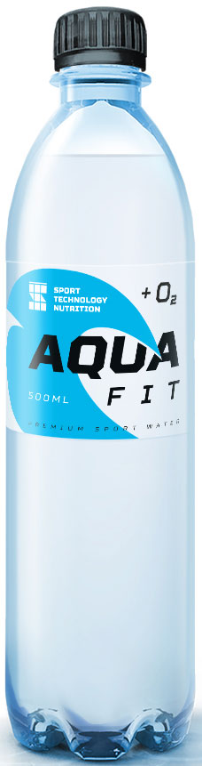 Изотоник Sport Technology Nutrition Aqua Fit, 500 мл креатин моногидрат sport technology nutrition creatine 300 г