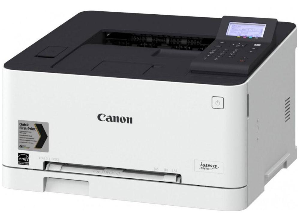 Canon i-SENSYS LBP613Cdw, White принтер1477C001Canon i-SENSYS LBP613Cdw - эффективный и простой в использовании цветной лазерный принтер, разработанный для домашних офисов и небольших компаний, предлагает высочайшее качество печати и удобные функции, такие как поддержка мобильных устройств и двусторонняя печать.Скорость двусторонней печати: 11 изобр/мин (A4)Частота процессора: 800 МГц x 2Память: 1 ГБШрифты: 45 шрифтов PCL, 136 шрифтов PS