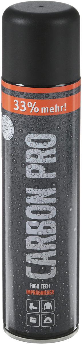 """Спрей влаго- и грязеотталкивающий для обуви Collonil Carbon Pro, 400 мл1704 000Высокоэффективный влаго- и грязеоталкивающий спрей, разработанный благодаря """"carbon technology"""". Защита, действующая по принципу """"распыляемая мембрана"""".Сильное действие средства основано на уникальной невидимой защитной структуре, состоящей из полимерных волокон, которые фиксируются на гибкой поверхности материала и действуют длительное время. Препятствует появлению солевых разводов и предохраняет материал от выгорания. Инновационное средство подходит для всех типов материалов. Рекомендуется для защиты High-Tex материалов, в т.ч. с мембранами Gore Tex, Sympatex и др. Способ применения: Баллон перед применением встряхнуть. Перед первым использованием изделие надлежит многократно обработать спреем. Распылять с расстояния около 20 см., на очищенную поверхность, не допуская при этом появления капель и подтеков. Дать впитаться и просохнуть. Гладкую кожу отполировать, замшу взъерошить. Не полировать во влажном виде! После нанесения спрея рекомендуется применять крем для ухода и питания материала. Регулярное применение усиливает защитный эффект и продлевает срок службы изделия.Объем: 400 мл.Товар сертифицирован. Уважаемые клиенты!Обращаем ваше внимание на возможные изменения в дизайне упаковки. Качественные характеристики товара остаются неизменными. Поставка осуществляется в зависимости от наличия на складе."""