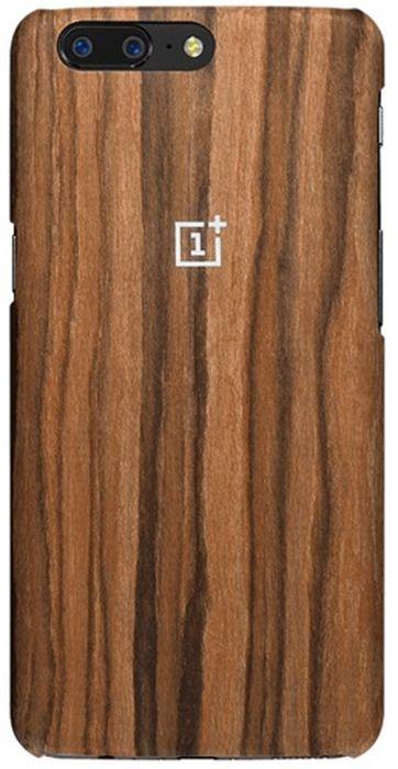 OnePlus Rosewood Protective Case чехол для OnePlus 5, Brown5431100012Чехол-накладка OnePlus Rosewood Protective Case для OnePlus 5 обеспечивает надежную защиту корпуса смартфона от механических повреждений и надолго сохраняет его привлекательный внешний вид. Накладка выполнена из высококачественного материала, плотно прилегает и не скользит в руках. Чехол также обеспечивает свободный доступ ко всем разъемам и клавишам устройства.