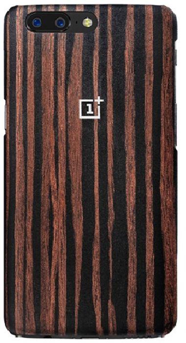 OnePlus Ebony Wood Protective Case чехол для OnePlus 5, Brown5431100013Чехол-накладка OnePlus Ebony Wood Protective Case для OnePlus 5 обеспечивает надежную защиту корпуса смартфона от механических повреждений и надолго сохраняет его привлекательный внешний вид. Накладка выполнена из высококачественного материала, плотно прилегает и не скользит в руках. Чехол также обеспечивает свободный доступ ко всем разъемам и клавишам устройства.