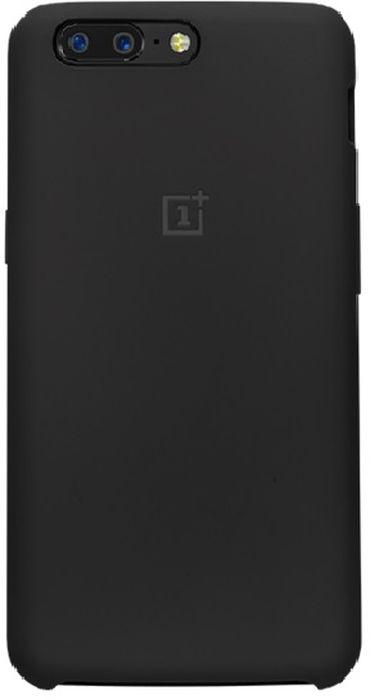 OnePlus Silicone Protective Case чехол для OnePlus 5, Black5431100016
