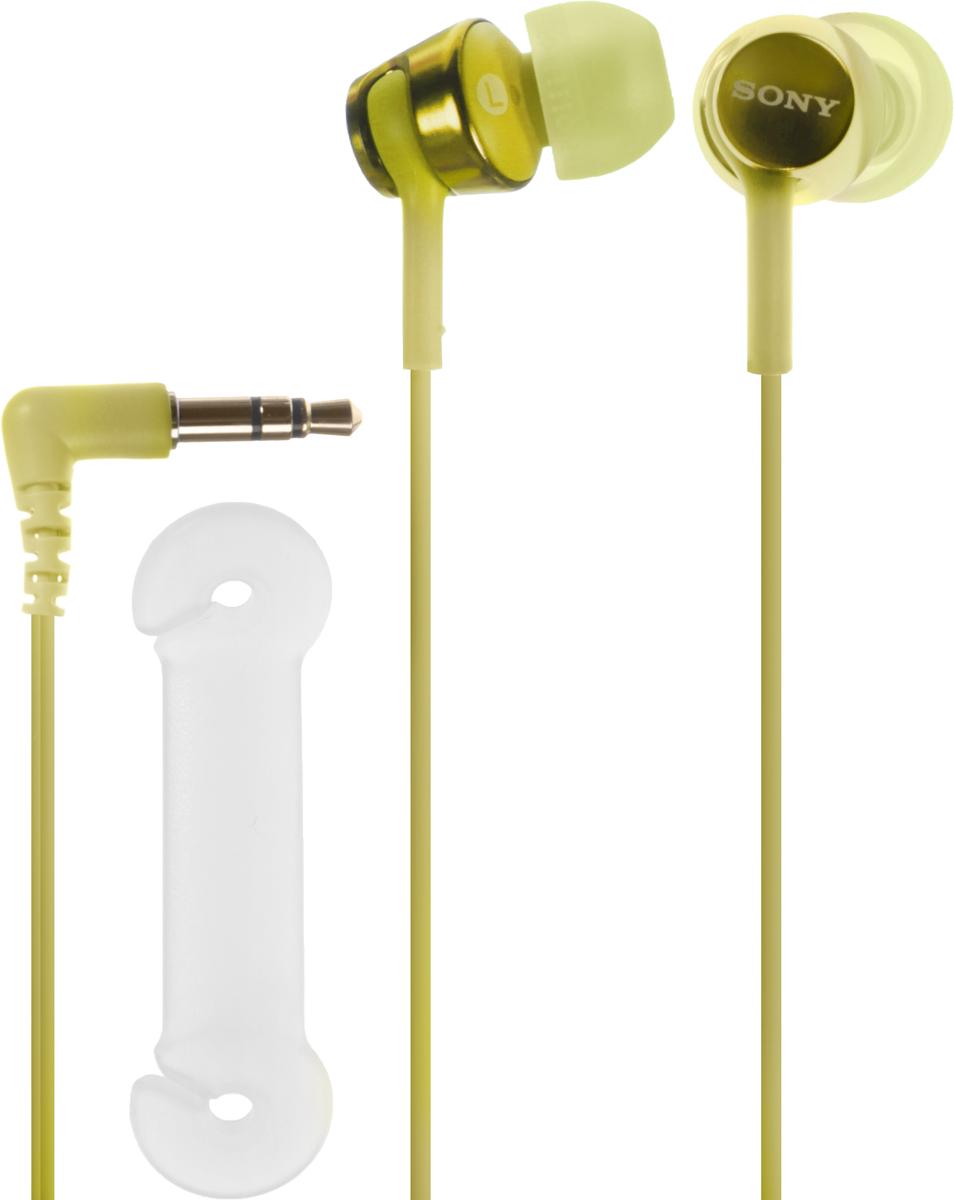 Sony EX155, Lime наушники наушники sony для бассейна