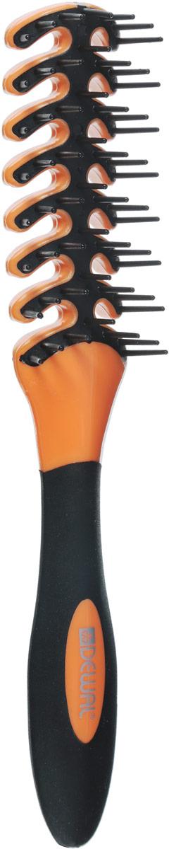 Dewal Расческа для укладки Рыбья кость, цвет: оранжевый, черный. BR69403BR69403В ассортименте торговой марки Dewal имеются расчески на все случаи жизни, с помощью которых можно выполнять стрижки, укладки, модельные причёски и другие манипуляции с волосами. Вообще расческа для волос считается для парикмахера самым простым, но при этом незаменимым инструментом. Щетка для укладки с пластиковыми штифтами идеальна для создания прикорневого объема, расчесывания. Продуманная конструкция, эргономичный дизайн обеспечивают комфортную работу парикмахера. Расчески с легкостью скользят по волосам, удобно ложатся в руку.Товар сертифицирован.