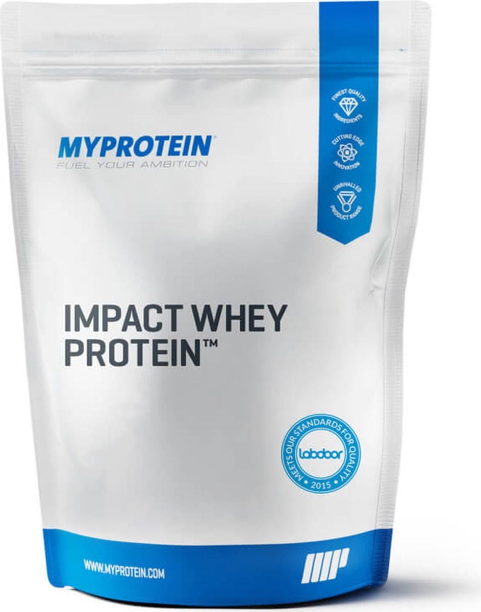 Протеин Myprotein Impact Whey Protein, ваниль, 1 кг10531013Протеин Myprotein Impact Whey Protein изготовлена из сыворотки премиального качества из молока коров, питающихся свежей травой. Онсодержит впечатляющие 21 гр белка в порции. Имея в своем составе комплекс незаменимых аминокислот, Impact Whey Protein содержит также4.5 гр BCAA и 3.6 гр Глютамина на порцию. Impact Whey Protein содержит всего 1.9 гр жира и 1 гр углеводов, 103 ккал на порцию. Проще говоря,если Вы ищете сывороточный протеин с гарантированным качеством и исключительно выгодным соотношением цены и эффективности всочетании с выдающимся составом по макронутриентам, это это то, что нужно.Преимущества продукта:Impact Whey Protein - это удобный и вкусный способ гарантировать, что ваши мышцы получат достаточное количество протеина высокого качествав течении дня. Высокое содержание белка в этом продукте будет способствовать росту и поддержанию мышечной массы.Impact Whey Protein -идеальный помощник широкого круга атлетов, будь то любители, опытные или сверхопытные спортсмены. Продукт выпускается в разнообразныхвкусах, в этой линейке каждый найдет что-то подходящее. Impact Whey Protein быстро усваивается, поэтому рекомендуется пить его в течении 30-60 минут после тренировки, когда повышен метаболизм.Как вариант, его можно употреблять в любое время дня, чтобы выполнить дневную норму потребления протеина. Этот продукт можно разводить вводе или молоке и пить в качестве освежающего восстанавливающего протеинового коктейля, и комбинировать с любимыми другими видамиспортивного питания.