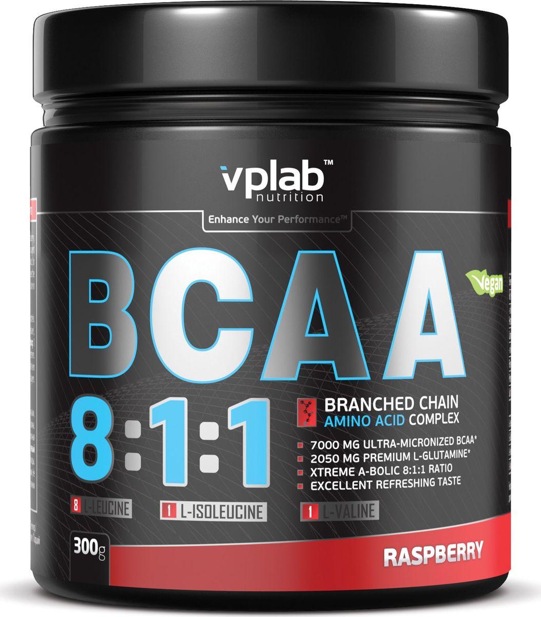 Аминокислоты Vplab BCAA 8:1:1, малина, 300 гVP54315Аминокислоты Vplab BCAA 8:1:1 - это незаменимые аминокислоты с разветвленными цепочками (ВСАА), которые являются основнымматериалом для синтеза протеина, обладают сильнейшим анаболическим эффектом, препятствуют катаболизму. L-глютамин усиливает эффектВСАА, способствуя более эффективному росту мышечной массы и восстановлению. Ультрамикронизированные BCAA нового поколенияотличаются наилучшей растворимостью и полным отсутствием горечи. Соотношение лейцин - изолейцин - валин 8:1:1 является оптимальным длямаксимального увеличения анаболического потенциала мышечных тканей.Питательная ценность: Питательная ценность на 100 г: энергетическая ценность - 354 ккал (1,487), белки - 71,8 г, углеводы - 6,2 г, из которых сахара - 0,1 г, жиры - 0,1 г,клетчатка - 0,08 г. Аминокислоты на 100 г белка: L-лейцин - 56 г, L-глютамин - 20,6 г, L-изолейцин - 7 г, L-валин - 7 г.