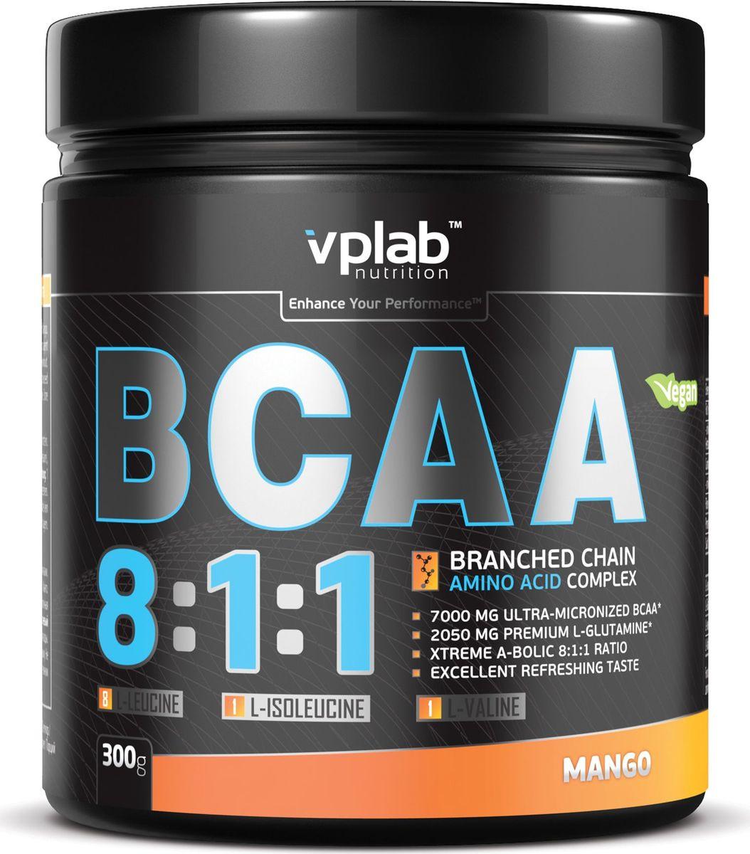 Аминокислоты Vplab BCAA 8:1:1, манго, 300 г prolab bcaa prolab plus 180капс