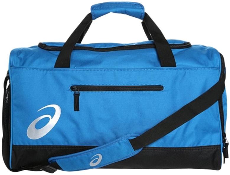 Сумка спортивная Asics  TR Core Holdall M , цвет: голубой, 45 л - Сумки