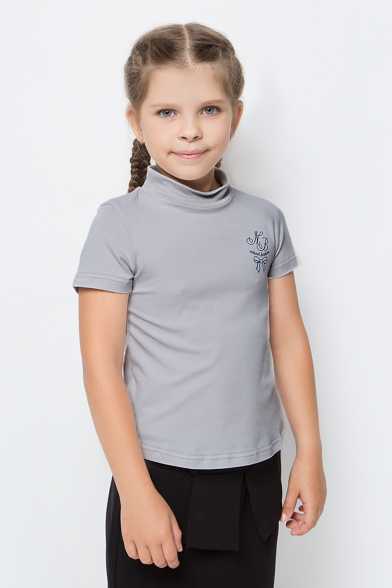 Водолазка для девочки Nota Bene, цвет: серый. CJR27040_20. Размер 152 блузка для девочки nota bene цвет серый cjr27029 20 размер 152