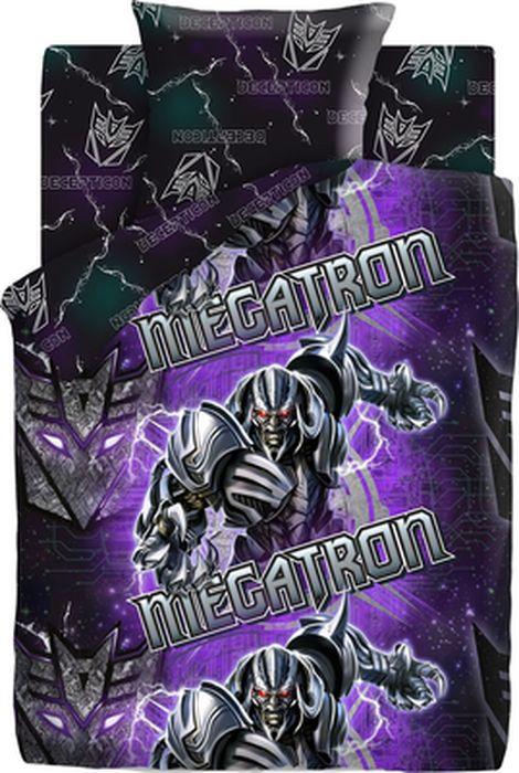 Комплект детского постельного белья Transformers Мегатрон, 1,5-спальный, наволочка 70х70419998