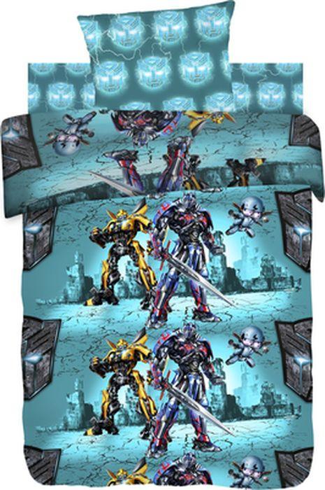 Комплект детского постельного белья Transformers Защитники, 1,5-спальный, наволочка 70х70420008