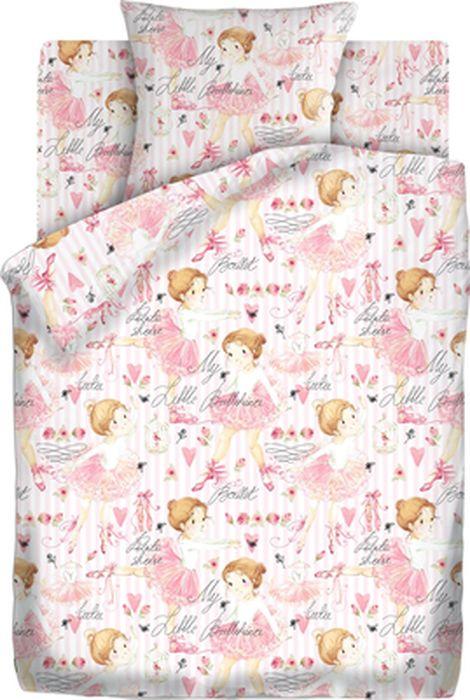 Комплект детского постельного белья Кошки-мышки Балерины, 1,5-спальный, наволочка 70х70422721