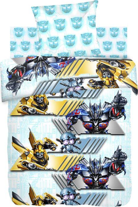 Комплект детского белья Transformers Автоботы, 1,5-спальный, наволочка 70х70430016Комплект детского постельного белья Transformers Автоботы, состоящий из наволочки, простыни и пододеяльника, выполнен из натурального 100% хлопка. Пододеяльник оформлен изображением Трансформеров. Хлопок - это натуральный материал, который не раздражает даже самую нежную и чувствительную кожу малыша, не вызывает аллергии и хорошо вентилируется. Такой комплект идеально подойдет для кроватки вашего малыша. На нем ребенок будет спать здоровым и крепким сном.