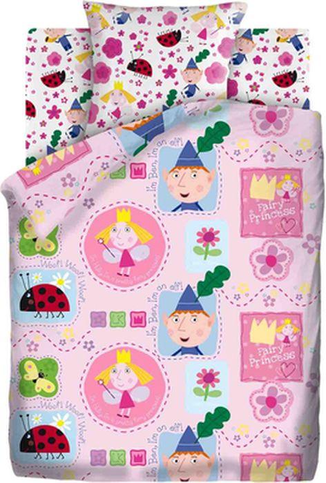 Комплект детского постельного белья Бен и Холли Пэчворк, 1,5-спальный, наволочка 70х70437685