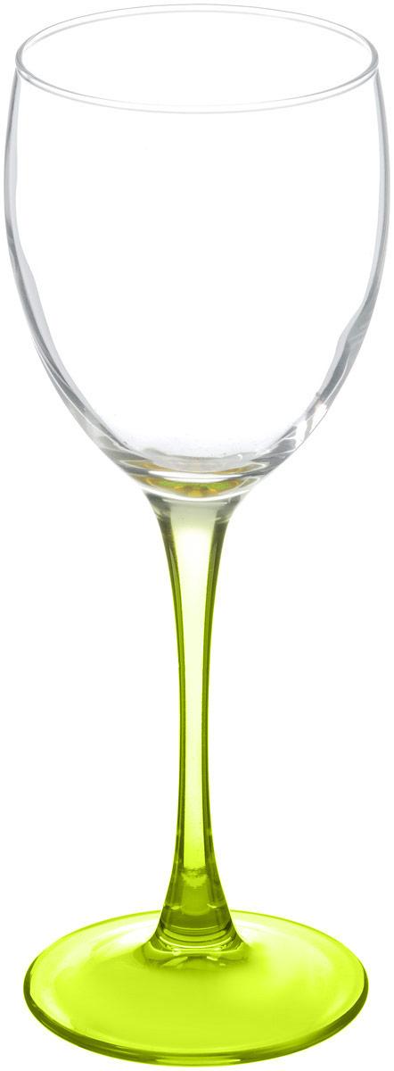 Бокал для вина Luminarc Эталон, цвет: прозрачный, салатовый, 250 млL2819_прозрачный, салатовыйБокал для вина Luminarc Эталон необходим для любой хозяйки, сочетает в себе отличное качество и дизайн. Изделие выполнено из высококачественного стекла. Такой бокал украсит любой кухонный интерьер и станет хорошим подарком для ваших близких.Диаметр бокала (по верхнему краю): 7 см. Высота бокала: 19,5 см.