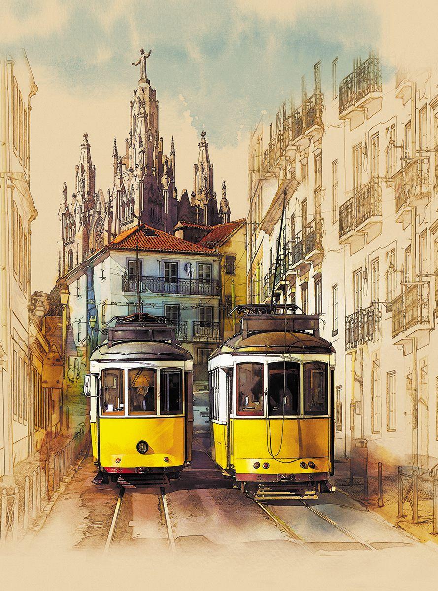 Фотообои флизелиновые Milan Желтый трамвайчик, текстурные, 2 х 2,7 мM 252Текстурные флизелиновые фотообои Milan Желтый трамвайчик позволят создать неповторимый облик помещения, в котором они размещены. Milan — дизайнерская коллекция фотообоев и фотопанно европейского качества, созданная на основе последних тенденций в мире интерьерной моды. Еще вчера эти тренды демонстрировались на подиумах столицы моды, а сегодня они нашли реализацию в декоре стен. Фотообои Milan реализуют концепцию доступности Моды для жителей больших и маленьких городов. Фотообои Milan — мода для стен, доступная каждому! Монтаж: Клеи Quelid Murale, Хенкель Metylan Овалид Т и Pufas Security GK10 . Принцип монтажа: стык в стык.