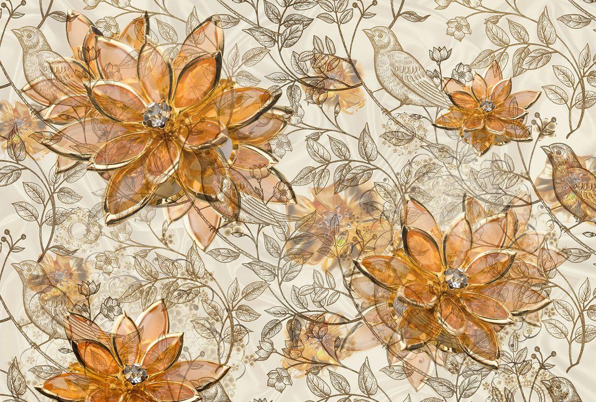 Фотообои флизелиновые Milan Драгоценный цветок, текстурные, 4 х 2,7 мM 453Текстурные флизелиновые фотообои Milan Драгоценный цветок позволят создать неповторимый облик помещения, в котором они размещены. Milan — дизайнерская коллекция фотообоев и фотопанно европейского качества, созданная на основе последних тенденций в мире интерьерной моды. Еще вчера эти тренды демонстрировались на подиумах столицы моды, а сегодня они нашли реализацию в декоре стен. Фотообои Milan реализуют концепцию доступности Моды для жителей больших и маленьких городов. Фотообои Milan — мода для стен, доступная каждому! Монтаж: Клеи Quelid Murale, Хенкель Metylan Овалид Т и Pufas Security GK10 . Принцип монтажа: стык в стык.