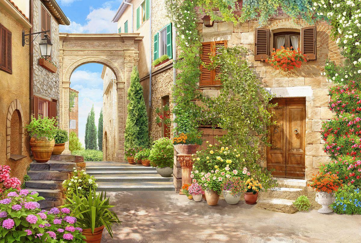 Фотообои флизелиновые Milan Итальянский дворик, текстурные, 4 х 2,7 мM 498Текстурные флизелиновые фотообои Milan Итальянский дворик позволят создать неповторимый облик помещения, в котором они размещены. Milan — дизайнерская коллекция фотообоев и фотопанно европейского качества, созданная на основе последних тенденций в мире интерьерной моды. Еще вчера эти тренды демонстрировались на подиумах столицы моды, а сегодня они нашли реализацию в декоре стен. Фотообои Milan реализуют концепцию доступности Моды для жителей больших и маленьких городов. Фотообои Milan — мода для стен, доступная каждому! Монтаж: Клеи Quelid Murale, Хенкель Metylan Овалид Т и Pufas Security GK10 . Принцип монтажа: стык в стык.