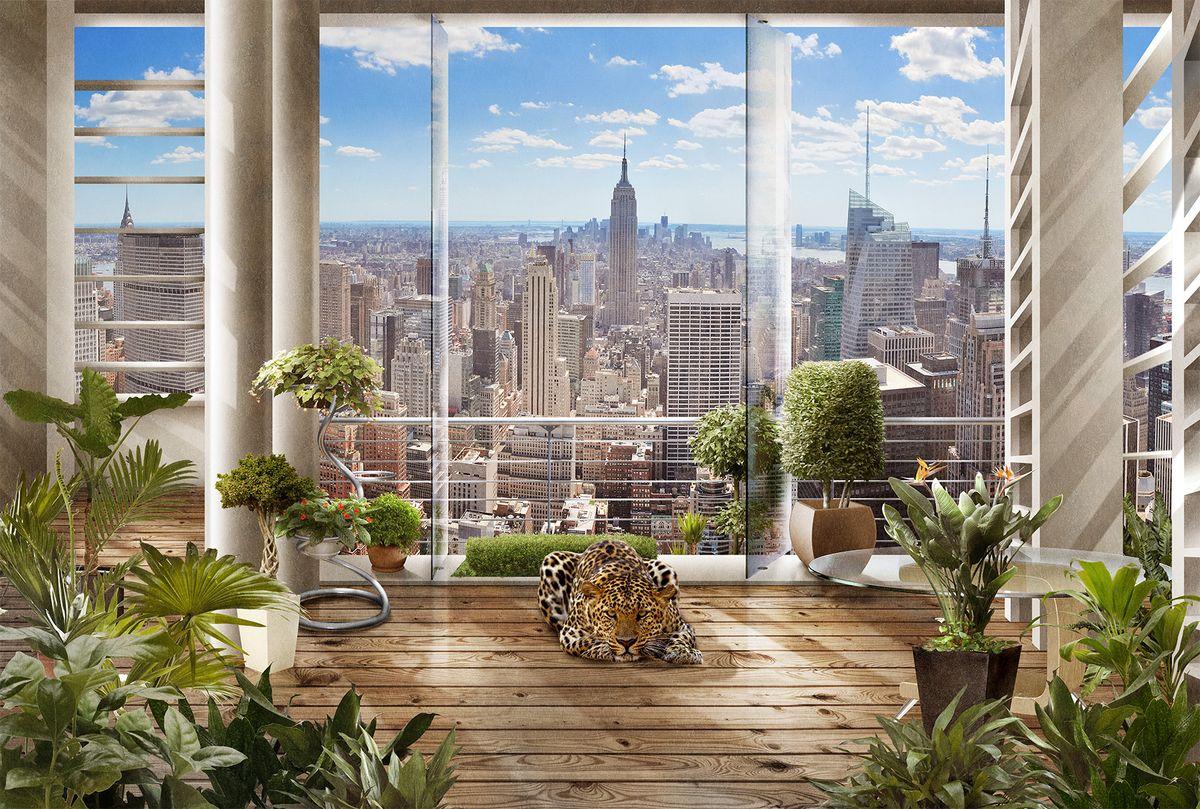 """Текстурные флизелиновые фотообои Milan """"Утро в Нью-Йорке"""" позволят создать неповторимый облик помещения, в котором они размещены. Milan — дизайнерская коллекция фотообоев и фотопанно европейского качества, созданная на основе последних тенденций в мире интерьерной моды. Еще вчера эти тренды демонстрировались на подиумах столицы моды, а сегодня они нашли реализацию в декоре стен. Фотообои """"Milan"""" реализуют концепцию доступности Моды для жителей больших и маленьких городов. Фотообои """"Milan"""" — мода для стен, доступная каждому! Монтаж: Клеи Quelid Murale, Хенкель Metylan Овалид Т и Pufas Security GK10 . Принцип монтажа: """"стык в стык""""."""