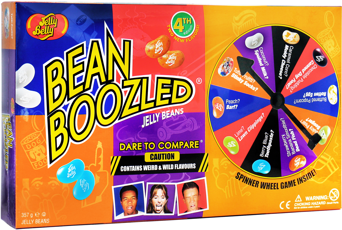 Jelly Belly Bean Boozled Game Драже жевательное + игра, 100 г драже жевательное jelly belly фруктовое ассорти 100 г пакет