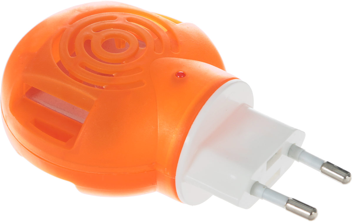 Фумигатор HELP, универсальный, с индикатором80505Универсальный фумигатор Help - эффективное средство борьбы с летающими насекомыми в помещении не менее 13 м2. Усовершенствованная конструкция обеспечивает равномерное нагревание и испарение действующего инсектицидного вещества из пластин или флакона со специальной жидкостью.Товар сертифицирован.