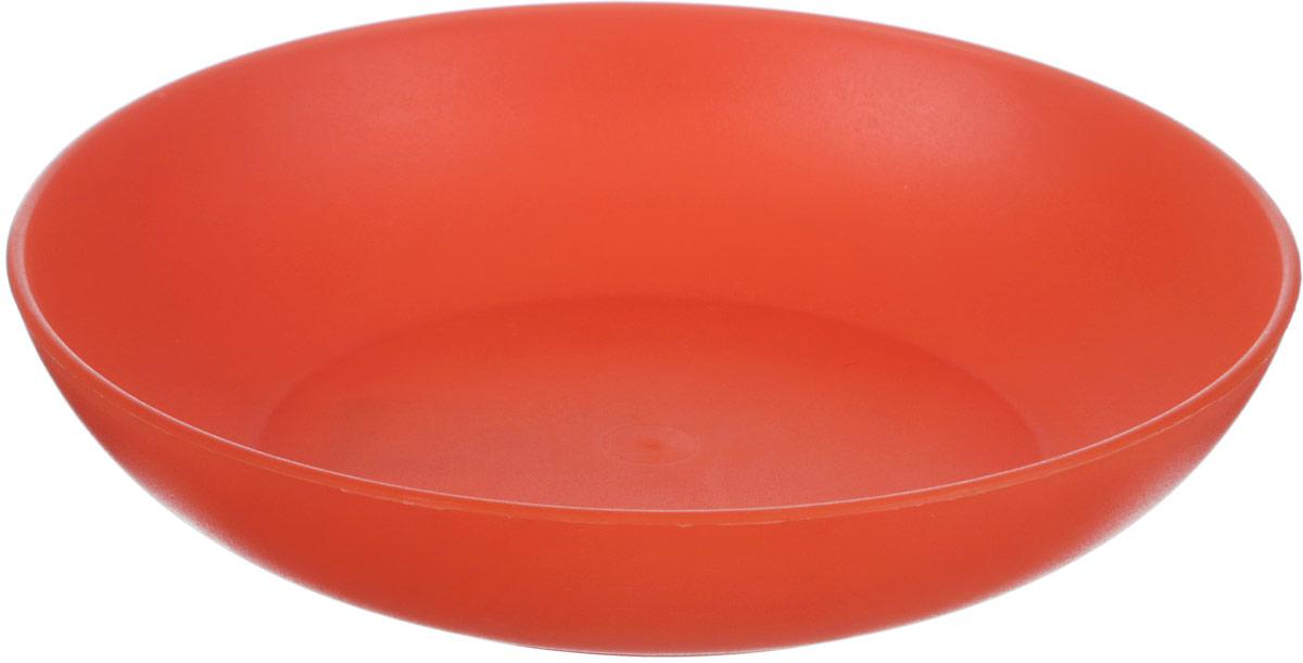 Тарелка глубокая Gotoff, цвет: оранжевый, диаметр 18 см010722Глубокая тарелка Gotoff изготовлена из цветного пищевогополипропилена и предназначена для холодной и горячей пищи.Выдерживает температурный режим в пределах от -25°Сдо +110°C.Посуду из пластика можно использовать вмикроволновой печи, но необходимо, чтобы нагрев непревышал максимально допустимую температуру.Удобная, легкая и практичная посуда для пикника и дачипоможет сервировать стол без хлопот! Диаметр тарелки (по верхнему краю): 18 см.Высота тарелки: 3,5 см.