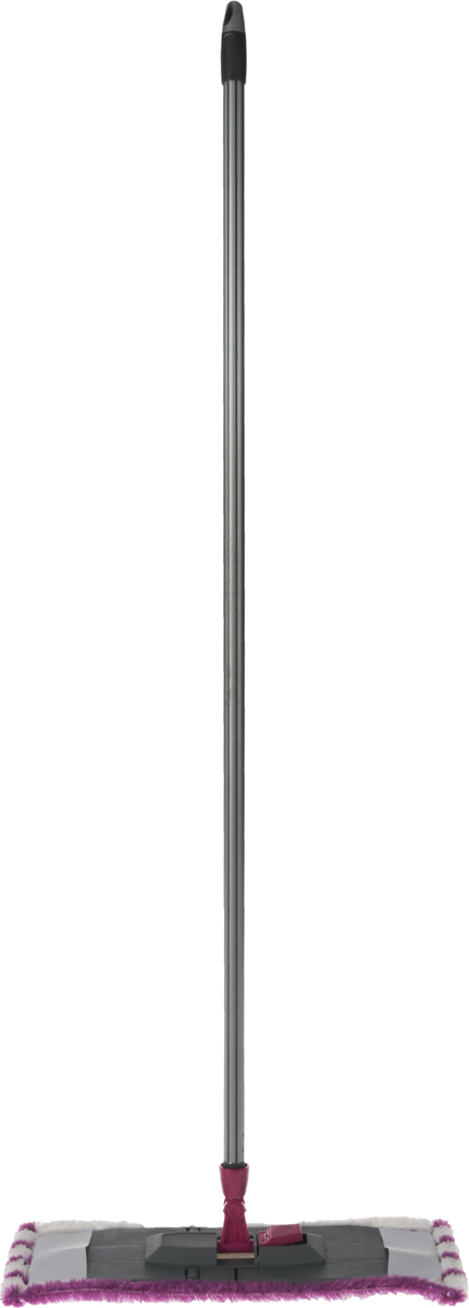 Швабра Эргопак, универсальная, длина 110 см3541 ERGNУниверсальная швабра Эргопак, выполненная из высококачественного металла, полипропилена и полиэтилена,идеально подходит для мытья всех типов напольных поверхностей: паркет, ламинат,линолеум, кафельная плитка. Материалы насадки - полиэстер и полиакрилонитрил, которыеобладают высокой износостойкостью, не царапают поверхности и отлично впитывают влагу.Благодаря своей структуре, насадка отлично моет углы. Длина ручки: 110 см. Размер насадки: 45 х 15 см.