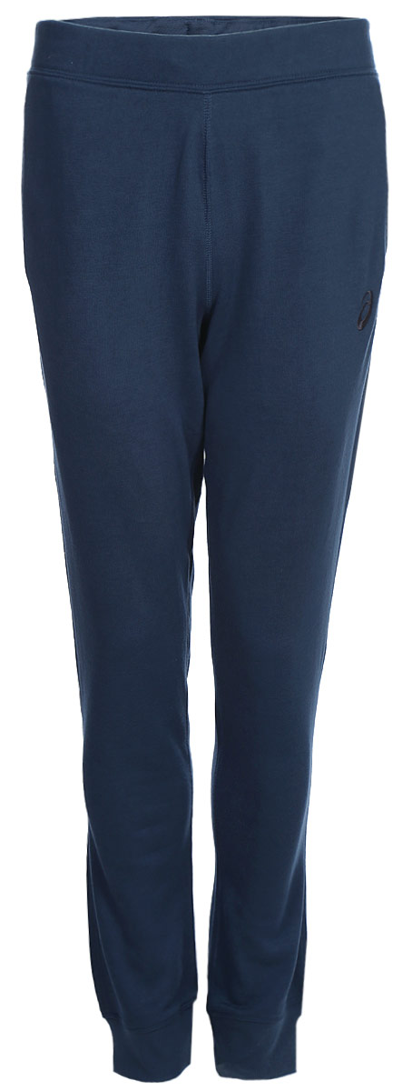 Брюки спортивные мужские Asics Essentials Pant, цвет: синий. 134795-0834. Размер XL (54)134795-0834Спортивные мужские брюки Asics Essentials Pant выполнены из полиэстера с добавлением вискозы. Комфортные плоские швы предотвращаются натирание. Модель имеет широкую резинку на поясе, объем талии регулируется при помощи шнурка-кулиски. Брюки дополнены двумя открытыми втачными карманами спереди и накладным карманом сзади. Брючины дополнены эластичными манжетами по низу.