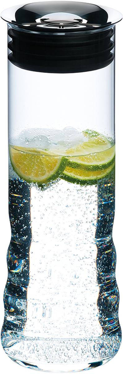 Кувшин Riedel Water Carafe, с крышкой, цвет: прозрачный, 1050 мл0414/13Кувшин Riedel Water Carafe выполнен из стекла. Классическая форма, мелодичный звон и блеск сделают такой кувшин не только хорошим дополнением интерьера кухни, но и изящным украшением праздничного стола. Кувшин идеально подходит для подачи вина и других напитков. Не использовать в посудомоечной машине и микроволновой печи.