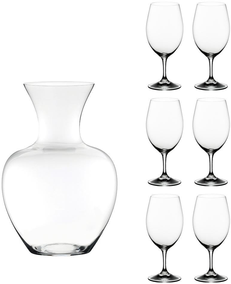 Набор фужеров для вина Riedel Ouverture, с декантером, 6 предметов. 5408/355408/35
