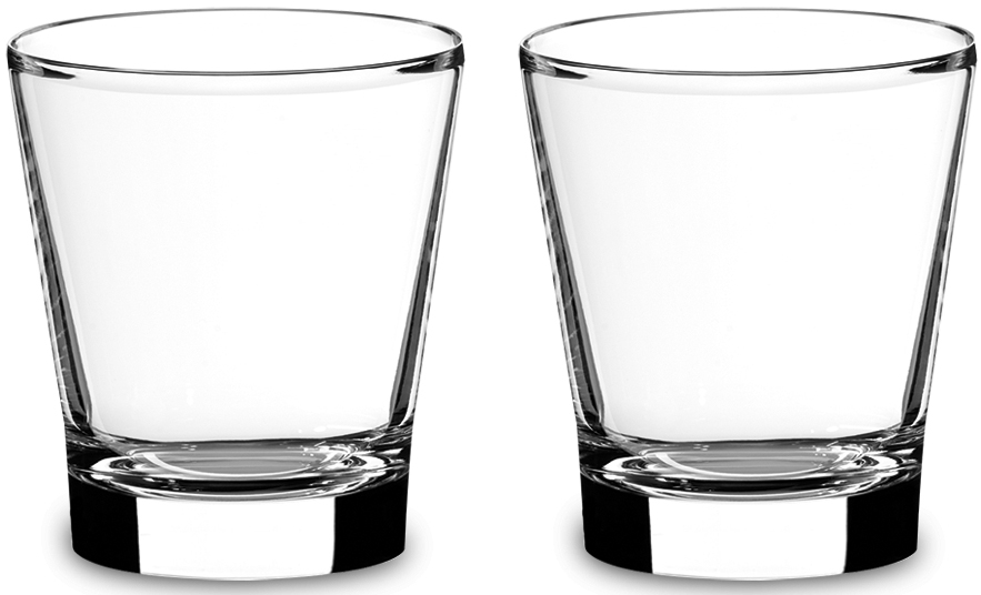 Набор фужеров для воды Riedel Vinum. Tumbler Small, цвет: прозрачный, 374 мл, 2 шт6416/40
