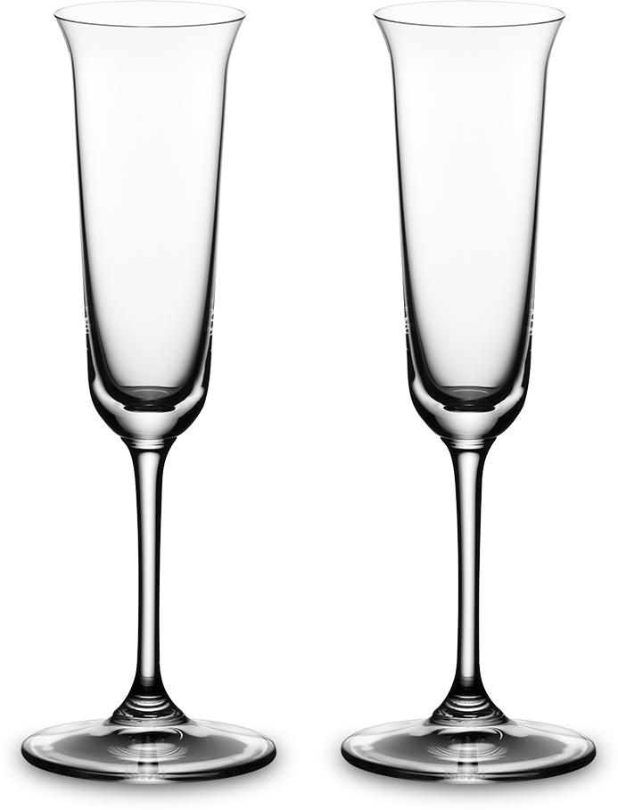 Набор фужеров для граппы Riedel Vinum. Grappa, цвет: прозрачный, 85 мл, 2 шт. 6416/706416/70