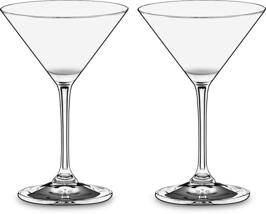 Набор фужеров для коктейлей Riedel Vinum. Martini, цвет: прозрачный, 130 мл, 2 шт6416/77