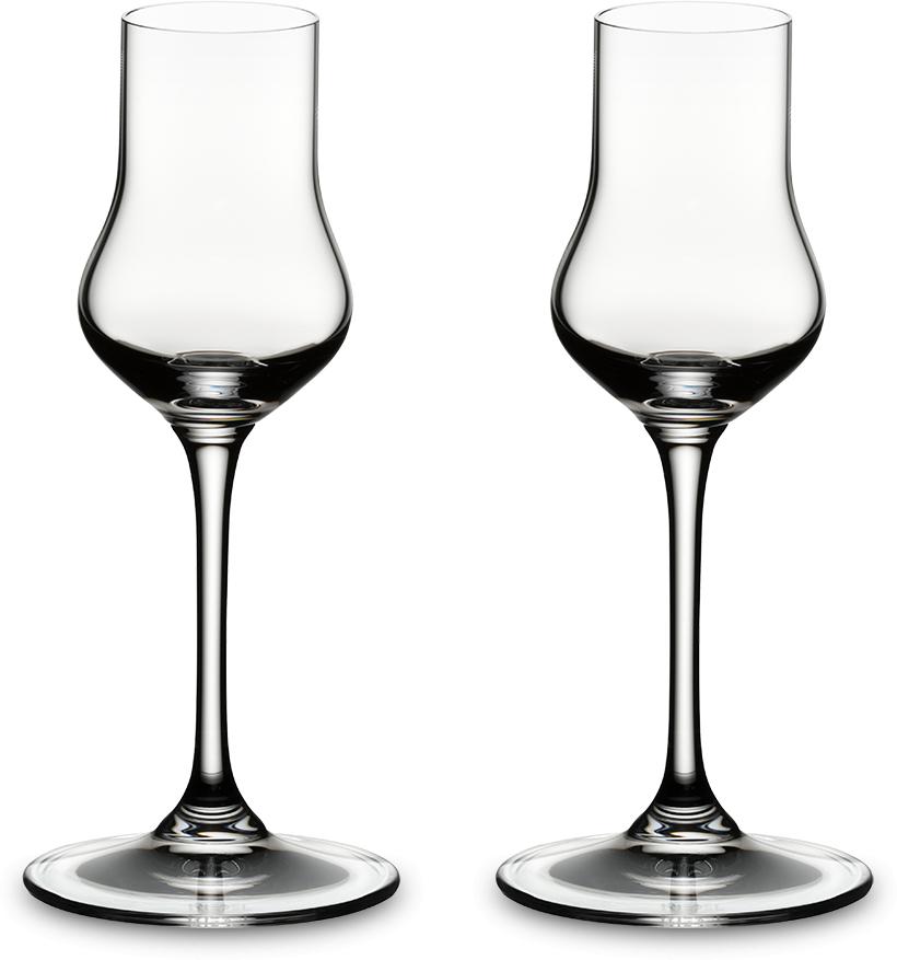 Набор фужеров для коньяка Riedel Vinum. Aquavit, цвет: прозрачный, 80 мл, 2 шт. 6416/17 набор фужеров для белого вина riedel vinum xl riesling grand cru цвет прозрачный 405 мл 2 шт