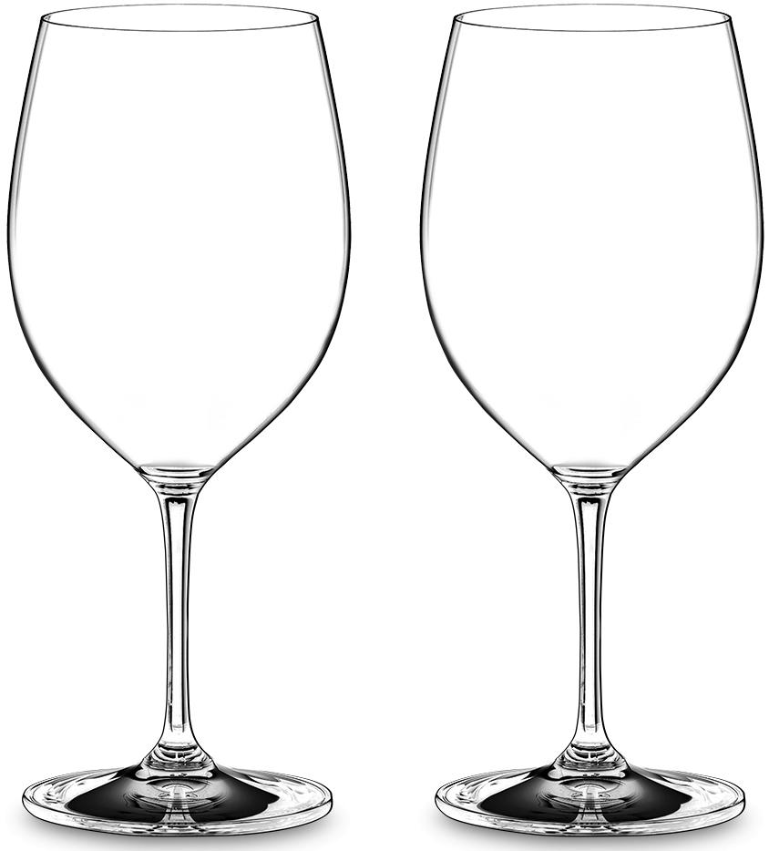 Набор фужеров для красного вина Riedel Vinum. Brunello, цвет: прозрачный, 590 мл, 2 шт6416/90