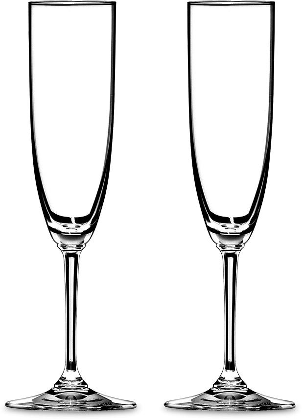 Набор фужеров для шампанского Riedel Vinum. Champagne, цвет: прозрачный, 160 мл, 2 шт6416/08