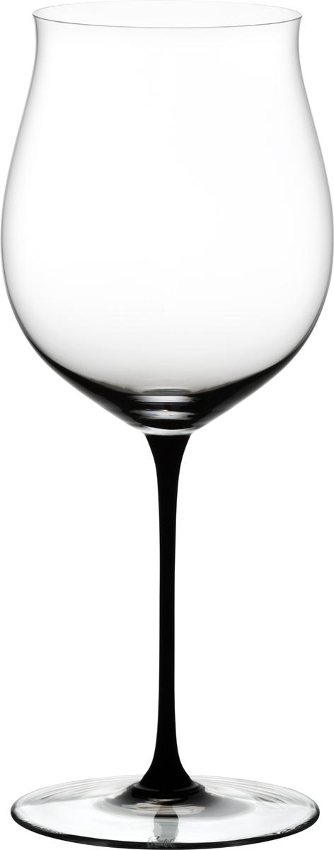 Фужер для красного вина Riedel Sommeliers Black Tie. Bordeaux Grand Cru, цвет: прозрачный, черный, 1050 мл