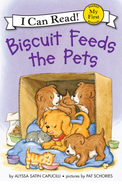 Biscuit Feeds the Pets allergic to pets