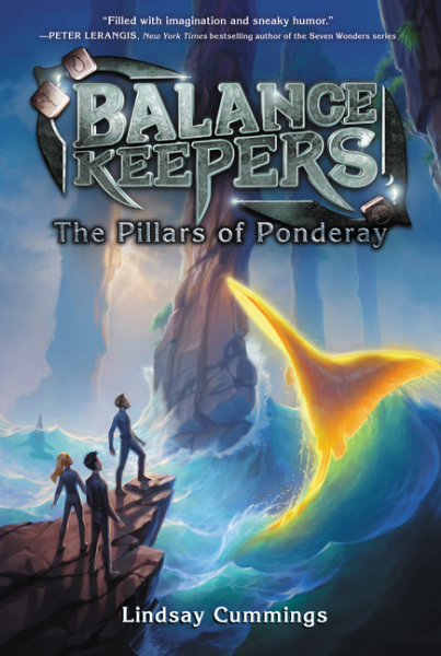 Balance Keepers, Book 2: The Pillars of Ponderay verne j journey to the center of the earth