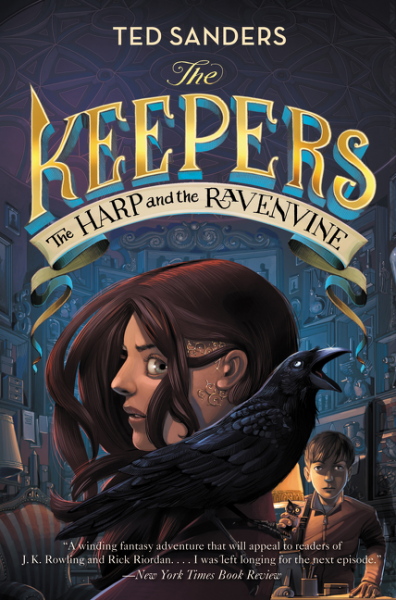 The Keepers #2: The Harp and the Ravenvine топ finders keepers finders keepers fi022ewhuo78