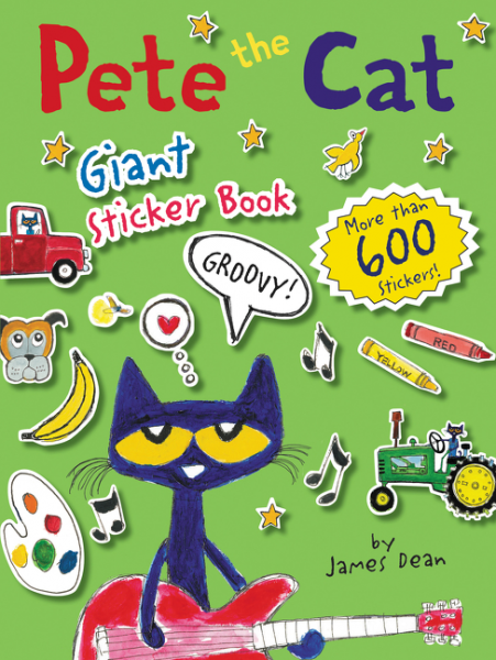 Pete the Cat Giant Sticker Book the cat in the hat sticker activity book