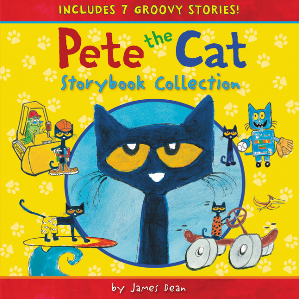 Pete the Cat Storybook Collection the cat with seven names
