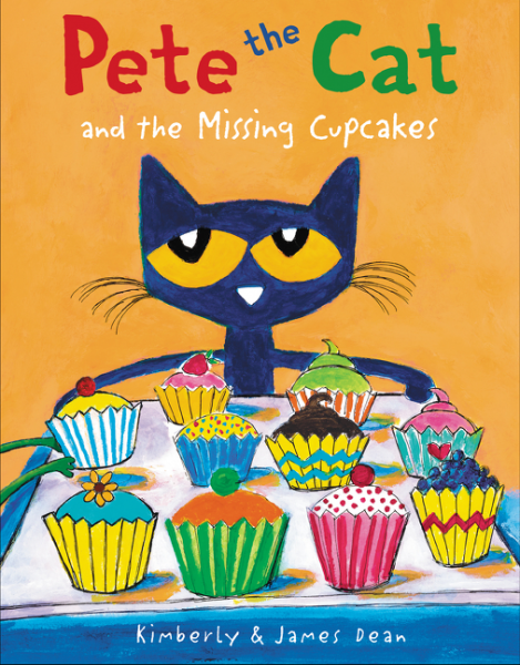 Pete the Cat and the Missing Cupcakes identity crisis the murder the mystery and the missing dna